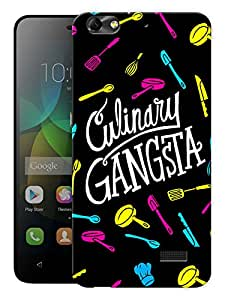 "Humor Gang Culinary Gangsta Printed Designer Mobile Back Cover For ""Huawei Honor 4C"" (3D, Matte Finish, Premium Quality, Protective Snap On Slim Hard Phone Case, Multi Color)"