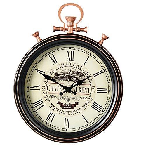 JAG Marke Europäischen Stil Wohnzimmer Kreative Retro Taschenuhr Stumm Wanduhr Amerikanischen Antiken Retro Handwerk Uhr Wand Schmiedeeisen Quarzuhr