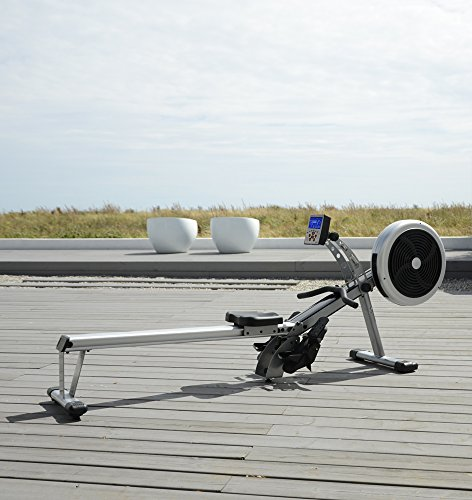 51EY26pNtaL - JTX Freedom Air Rowing Machine: Foldable Superior Rowing Machine. 2 YEAR IN-HOME SERVICE WARRANTY