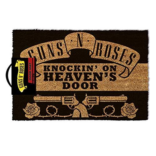 Guns N Roses Knocking On Heaven's - Felpudo 60 x 40