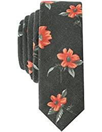 Original Penguin Men's TROPICAL #3 TIE Accessory, -olive, One Size