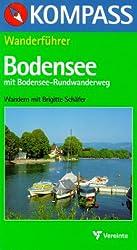 Kompass Wanderführer, Bodensee mit Bodensee-Rundwanderweg