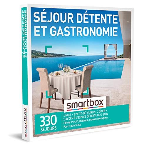 SMARTBOX - Coffret Cadeau Saint Valentin Couple - Idée cadeau original : Séjour...