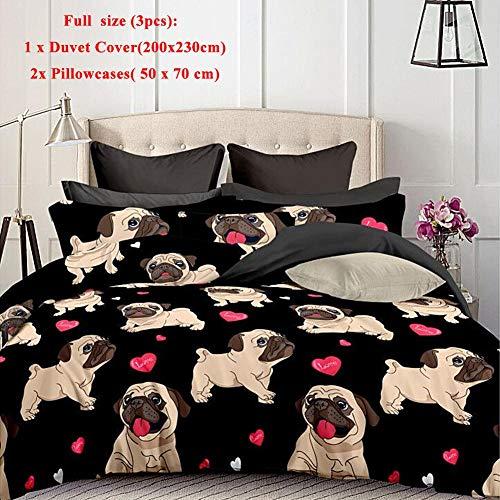 Juego de ropa de cama para perros