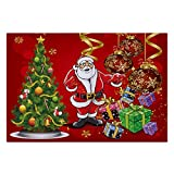 40x60CM Frohe Weihnachten Willkommen Fußmatten Indoor Home Carpets Decor Schlafzimmer Restaurant Dekoration Badezimmerzubehör Rutschfeste Matte(I)