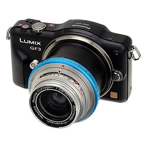Kamera-mount-system (Fotodiox Pro Objektivadapter mit Blendensteuerring Deckel-Bayonett DKL Objektiv auf MFT Micro 4/3 System Kamera Mount Adapter)