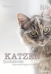 Katzen Quizkalender 2019: Wochenkalender