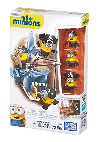 Minions - Game of construction, catch the shark (Mattel CNF54)