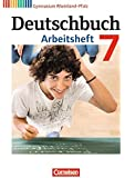 Deutschbuch Gymnasium - Rheinland-Pfalz: 7. Schuljahr - Arbeitsheft mit Lösungen