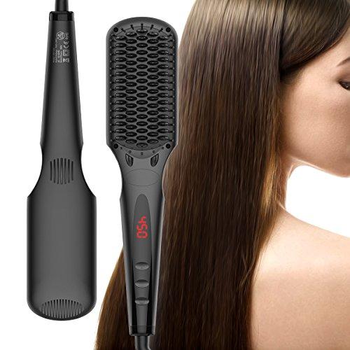 Cepillo alisador de pelo