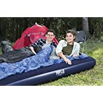 Pavillo Airbed Quick Inflation Outdoor Camping Air Mattress, Blue 4