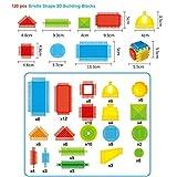 UFACE Spielzeug Entdeckersteine Klangspaß, Robustes Holzspielzeug und Lernspiel ab 2 Jahr DIY Auto Imagination Bausteine Bausteine Spielzeug BAU Bausteine Spielzeug