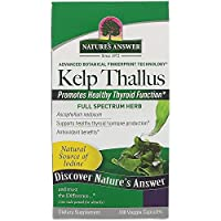 ‏‪Nature's Answer, Kelp Thallus, 100 Veggie Capsules‬‏