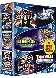 Power Rangers, Le Film / Digimon, Le Film / Turbo Power Rangers - Coffret 3 DVD