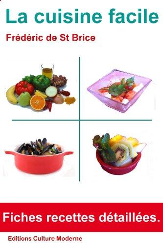 Couverture du livre La cuisine facile
