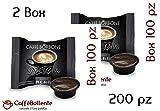 Caffè Borbone - Miscela Nera - Capsule Lavazza A Modo Mio - 200 pz (2x100)