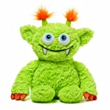 Gund Monsteroos Beeper The Green Monster Chaser Plush