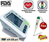 Dr.ODIN BP Monitor Work on Any Android Charger and 2 User Interface, White
