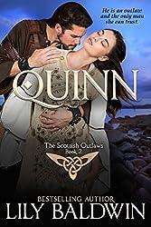 Quinn: A Scottish Outlaw (Highland Outlaws Book 2) (English Edition)