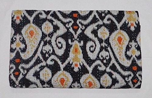 indischen Ikat Überwurf Kantha Quilt Ralli Gudari Kantha Quilt Decke Bettwäsche Tagesdecke Handmade Quilt
