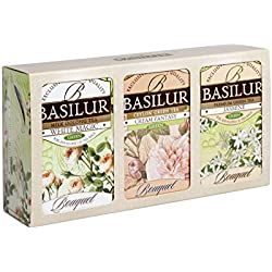 Basilur Gift Box Light Bouquet Grüner Tee 3x20E