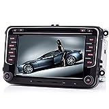 iFreGo 7' AUTORADIO MIT 3G Wifi 7 LEDs DVD GPS NAVIGATION BLUETOOTH für VW Naviceiver mitNAVI Software inkl. Europa Karten +Micro-SD-Kartenslot +...