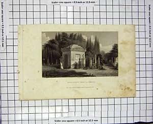 Cabriolet 1830 de La de Pere de Monument de Gravure de Pugin Nash