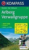 Arlberg, Verwallgruppe: Wandern / Rad / Skitouren. GPS-genau. 1:50.000