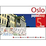 Oslo PopOut Map (Popout Maps) - handy pocket-size pop up map of Oslo including metro map