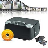 DigitNow! Numérique négatif / positif scanner de film avec 1800 / 3600DPI haute résolution USB 35mm 135 diapositives et Photo Scanner de film pour le convertisseur Classic Dark Slide & négatif à l'image numérique, besoin d'ordinateur et la nécessité d'installer le fichier CD.