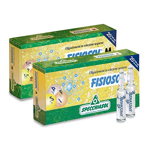 FISIOSOL Manganese-Rame oligoelementi in soluzione acquosa 20 fiale
