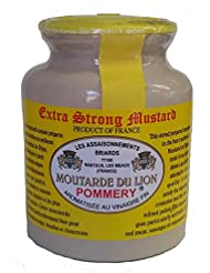 Moutarde de Meaux - Extra Strong Mustard - Moutarde des Lion Pommery - 250g