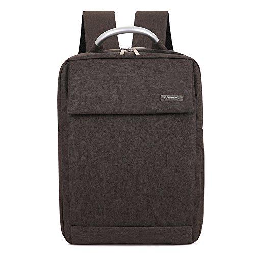 Mefly Die Business Men Rucksack der Rucksack Männer Computer Bag brown