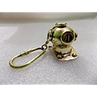 Ares India Brass Diving Divers Helmet Keychain Nautical Maritime Yatching Keyring Gift by Ares