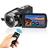 Video Camcorder Stoga 301STR HD 1080p IR-Nachtsicht 24.0 Mega Pixel Verbesserte Digitalkamera 16x Zoom DV 2.7 TFT LCD HDV Video Camcorder Rotation Touchscreen Videorekorder