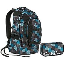 e1165f3a460e9 Satch Pack by Ergobag - 2tlg. Set Schulrucksack (+SchlamperBox Etui) - Ocean
