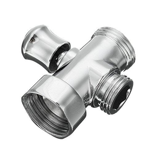 3-Wege Ventil Umstellventil Shower Head Diverter Valve für Duschsystem (Head-dusche-adapter)