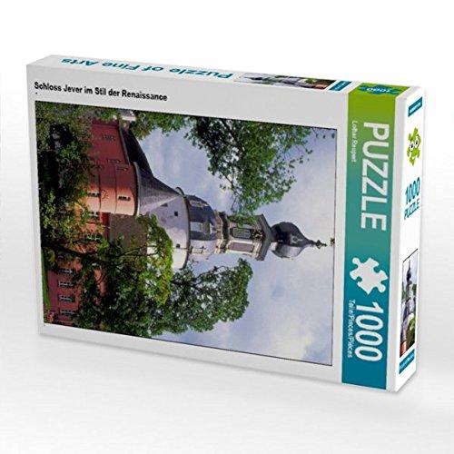 Schloss Jever im Stil der Renaissance 1000 Teile Puzzle Hoch