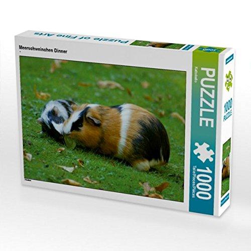 Meerschweinchen Dinner 1000 Teile Puzzle quer