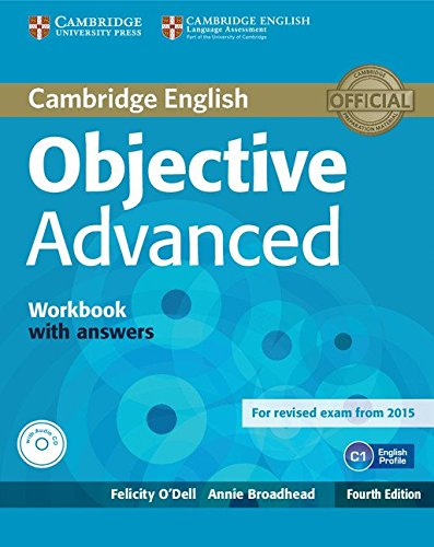 Objective Advanced Workbook with Answers with Audio CD por Felicity O'Dell