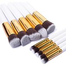 XCSOURCE® 10 Pinceles Profecionales Brochas Maquillajes Conjunto de Cepillos Brocha Sombra Blush Corrector Fundación Maquillaje Cosmético Profesional Kit de Maquillaje MT087