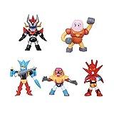 SET 5 Mini FIGURE Robot GO NAGAI Collection Vol. 3 TOMY Mazinga Getter Dragon Poseidon Liger Boss Borot