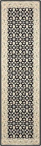 Nourison Teppich Mondrian 99446271655–Schwarz maschinengefertigter Teppich, schwarz, 7ft 9Zoll x 10ft 25,4cm