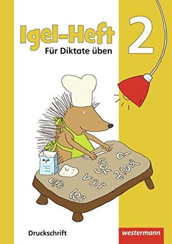 Preisvergleich Produktbild Igel - Hefte: Für Diktate üben: Arbeitsheft 2 DS