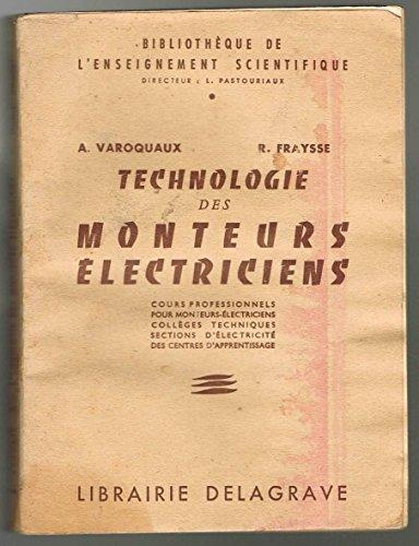 Technologie des monteurs électriciens