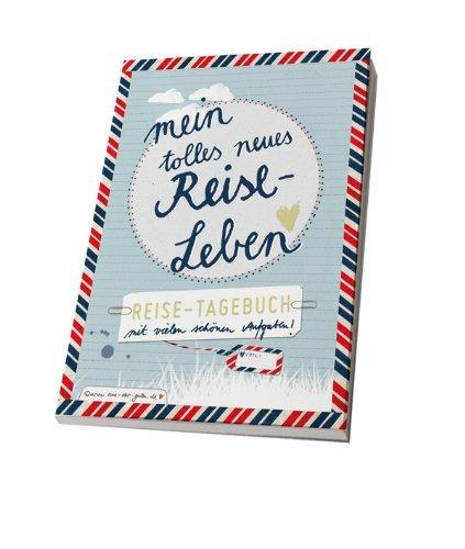 Reisetagebuch mit 26 spannenden Aufgaben für eine schöne Reise, A5, Taschenbuch zum Schreiben - Nachricht Matratze