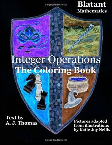 Integer Operations: The coloring book