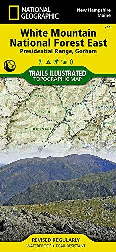 Presidental Range / Gorham: National Geographic Trails Illustrated Californien (National Geographic Trails Illustrated Map, Band 741) - Road England Map New