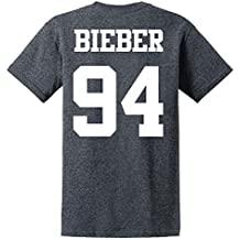 Bieber 94 T shirt Unisex Justin Bieber T shirt Cotton Casual Funny Versch Farben und Grossen