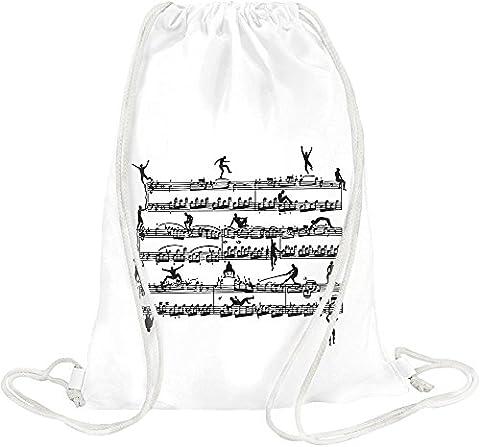 Mozart Men Drawstring bag